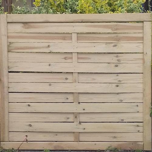 táblás kerítés kapu